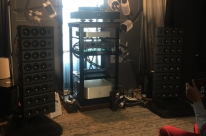 AXPONA 2018/4- USA -STABI M+4POINT 9+ CAR 50+ HRT 8th stack loudspeakers