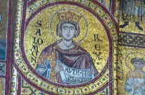 Cathedral Monreale-Sicily- mosaic from 1180- King Salomon  Audi-fill