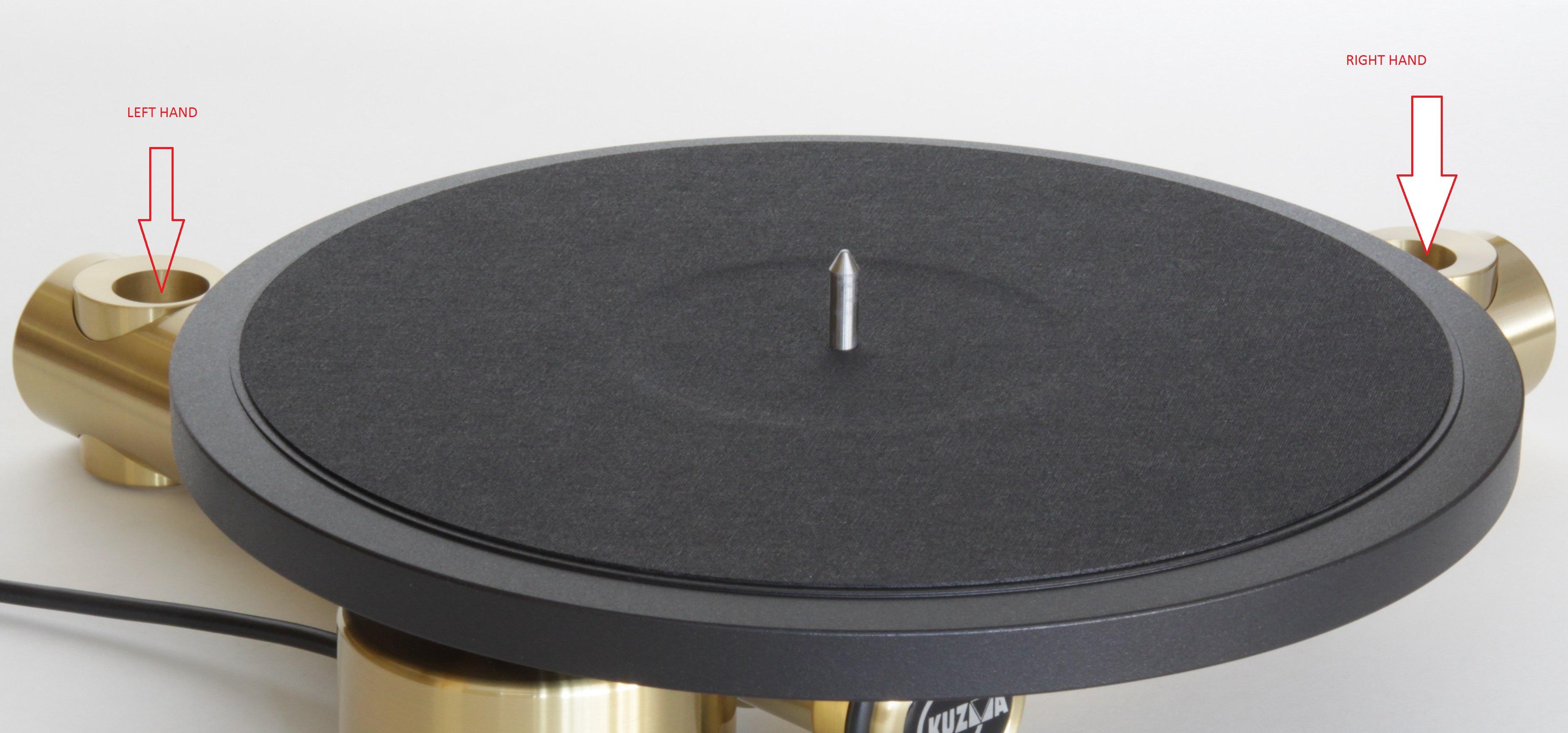Stabi Sd 9 Amp 12 Inch Kuzma Professional Turntables